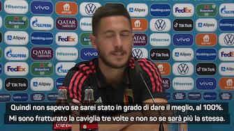 """Anteprima immagine per Belgio, Hazard: """"Cerco di essere un leader, mai avuto dubbi sulle mie qualità"""""""