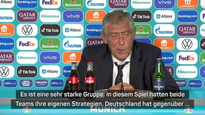 """Portugal-Coach Santos: """"Trage die Verantwortung"""""""