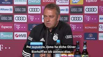 """Imagen de vista previa para Flick prefiere no habar de la selección alemana: """"Todavía me quedan dos partidos con el Bayern"""""""