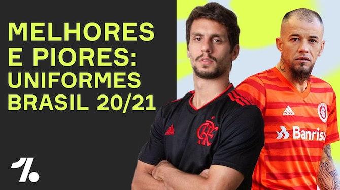 Imagem de visualização para LANÇAMENTOS NO BRASIL 20/21! As melhores e PIORES 3ᵃˢ camisas da TEMPORADA!