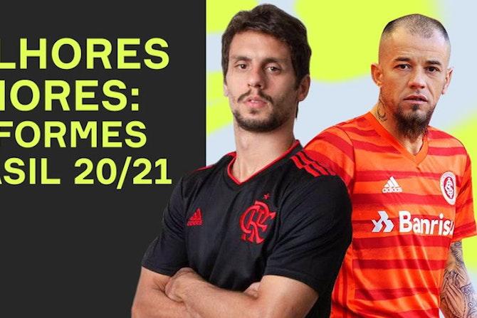 LANÇAMENTOS NO BRASIL 20/21! As melhores e PIORES 3ᵃˢ camisas da TEMPORADA!