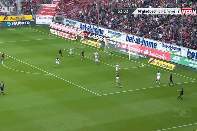 Best Volleys: Franck Ribéry Vs Gladbach