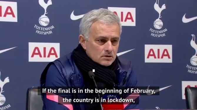 Mourinho hoping Tottenham fans can have their Wembley day out