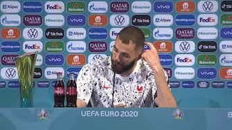 """Image d'aperçu pour Groupe F - Benzema : """"Il n'y a pas d'ordre pour tirer les penalties"""""""