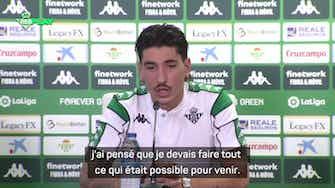 """Image d'aperçu pour Real Betis - Bellerin : """"Venir ici était la solution"""""""