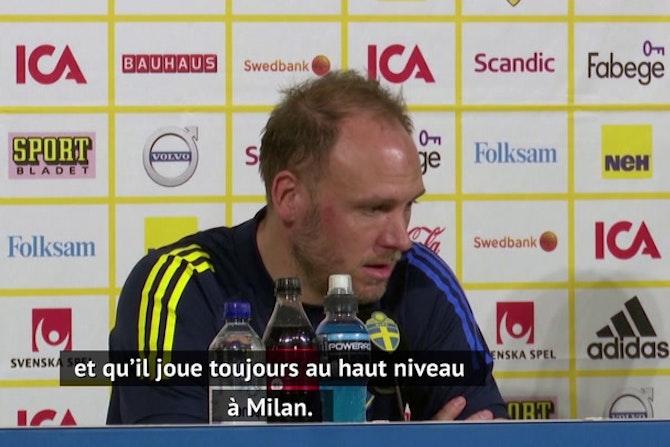 Qualif. CdM 2022 - Les joueurs suédois heureux de pouvoir compter sur Zlatan