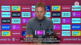 Vorschaubild für Nagelsmann: 'I think we played our best game of the season'