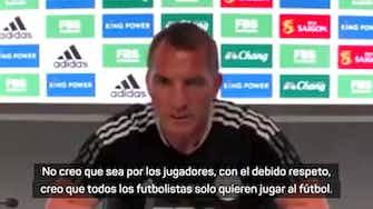 """Imagen de vista previa para Rodgers, sobre el Brasil-Argentina: """"No es culpa de los jugadores, las autoridades deben buscar soluciones"""""""