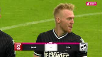 Vorschaubild für Hallescher FC - SC Verl (Highlights)