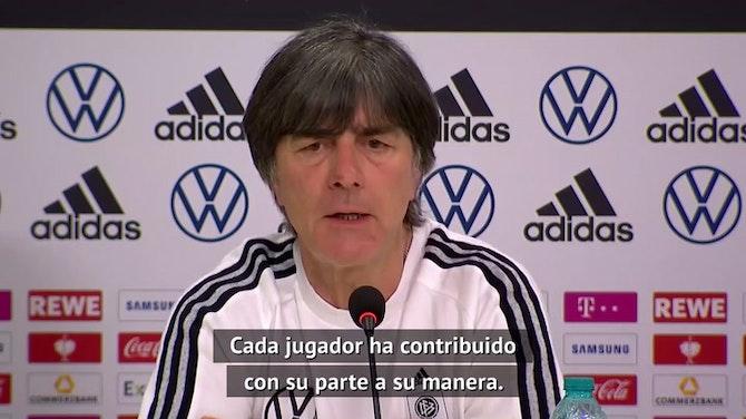 """Löw: """"No estaba contento cuando Toni Kroos tuvo que marcharse"""""""
