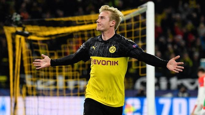 Vorschaubild für Transfergerüchte: Brandt sieht seine Zukunft beim BVB