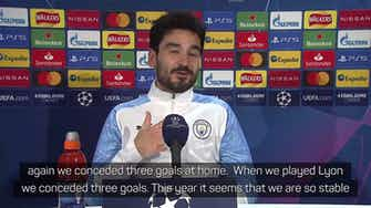Preview image for Increased defensive stability a key to City's success - Gundogan