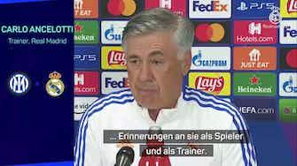 """Vorschaubild für Ancelotti: """"Champions League ist besonders für mich"""""""