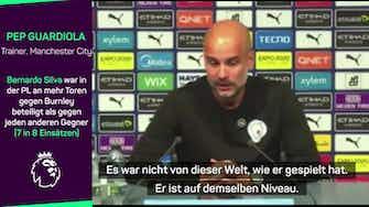 """Vorschaubild für Pep Guardiola über Silva: """"Nicht von dieser Welt"""""""