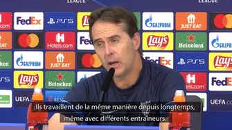"""Image d'aperçu pour FC Séville - Lopetegui : """"Salzbourg, un adversaire très difficile"""""""