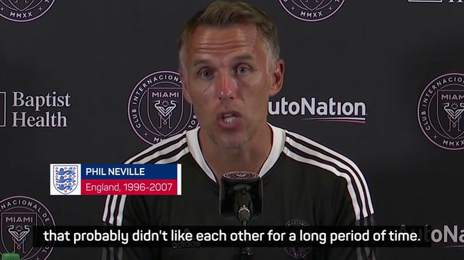 Preview image for FA should keep 'leader' and 'national treasure' Southgate - Phil Neville