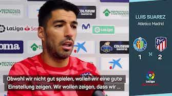 """Vorschaubild für Doppelpacker Suarez: Simeone hatte """"klare Message"""""""