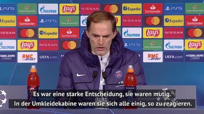 "Nach Rassismus-Skandal: Tuchel: ""Stark und mutig"""