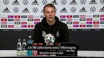 """Image d'aperçu pour Euro 2020 - Neuer : """"On veut dire au revoir à Löw et son staff de la meilleure façon"""""""