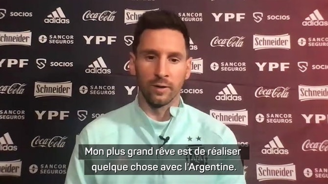 """Argentine - Messi : """"Nous sommes inquiets de la situation"""""""