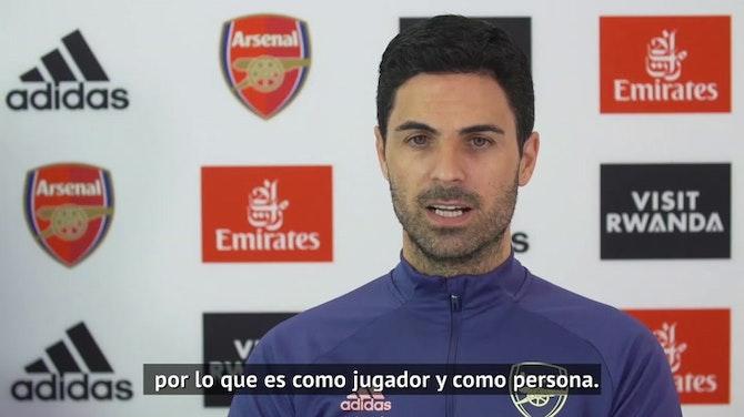 """Arteta, sobre David Luiz: """"Le deseo mucha suerte"""""""