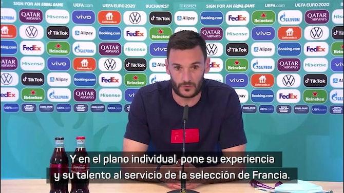 """Imagen de vista previa para Lloris: """"Benzema sabe lo que tiene que hacer por el equipo"""""""
