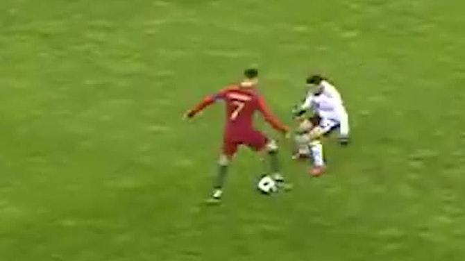 Ronaldo being... Ronaldo