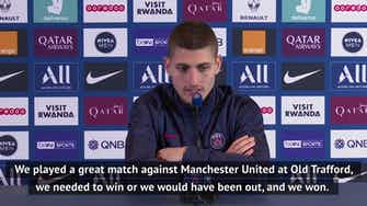 Preview image for PSG 'confident of winning every game' - Verratti