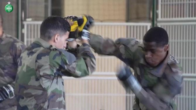 Vorschaubild für Saint-Etienne's U19 put to work in army training