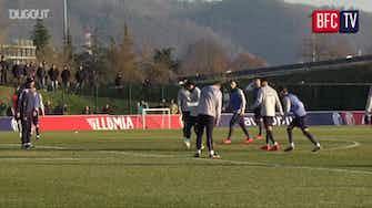 Anteprima immagine per Il Bologna si prepara per la partita contro il Genoa