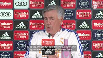 Imagem de visualização para Carlo Ancelotti fala sobre desgaste do elenco e projeta duelo contra o Osasuna