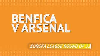 Preview image for Benfica v Arsenal head-to-head preview