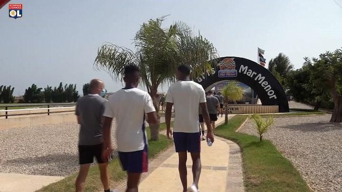 Image d'aperçu pour Les joueurs de l'Olympique Lyonnais s'essaient au karting