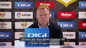 Vorschaubild für Barca entlässt Koeman: Die letzten Worte als Coach