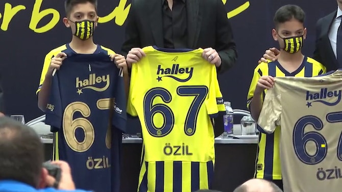 Preview image for 'It's a club I love' - Ozil ready for Fenerbahce challenge
