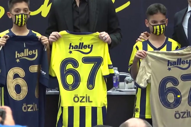 'It's a club I love' - Ozil ready for Fenerbahce challenge