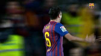 Preview image for Xavi's top three goals against Granada