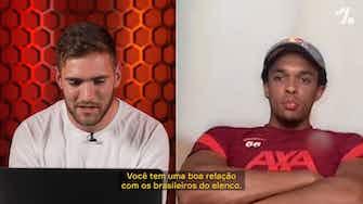 """Imagem de visualização para EXCLUSIVO: Alexander-Arnold revela supresa com o Flamengo e lembra """"torcida incrível"""""""