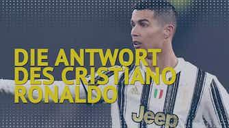 Vorschaubild für Perfekter Hattrick! Die Antwort des Cristiano Ronaldo