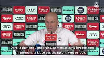 Image d'aperçu pour 28e j. - Zinédine Zidane évoque Ferland Mendy