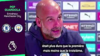 """Image d'aperçu pour 6e j - Guardiola : """"Chaque année, le championnat est de plus en plus dur"""""""