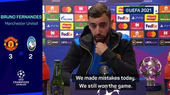 Preview image for Bruno Fernandes urges Man United to fix mistakes ahead of Liverpool clash