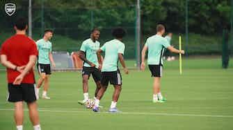 Imagem de visualização para Com Willian e Auba, Arsenal se prepara para amistoso contra o Chelsea