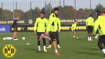 Imagem de visualização para Dortmund encerra preparação para o confronto contra o Ajax