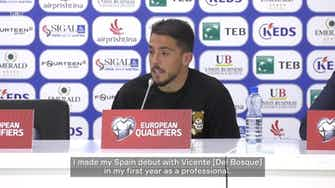 Preview image for Pablo Fornals on his goalscoring return to the national team