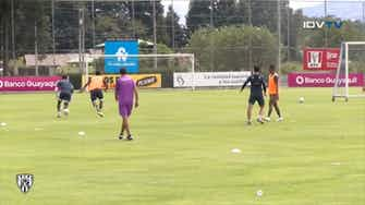 Preview image for Independiente del Valle's game in training