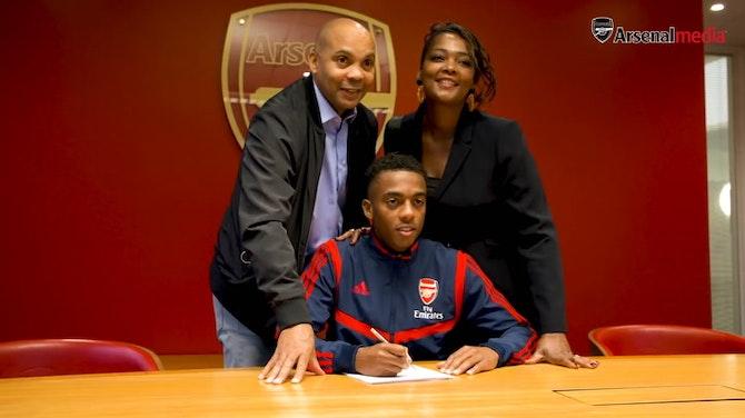 Image d'aperçu pour L'émergence de Joe Willock avec Arsenal