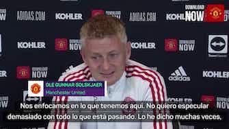 """Imagen de vista previa para Solskjaer: """"Cristiano es una leyenda de este club"""""""