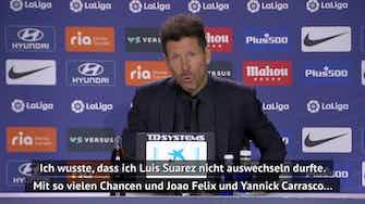 """Vorschaubild für Simeone will vor Liga-Finale """"Fans stolz machen"""""""