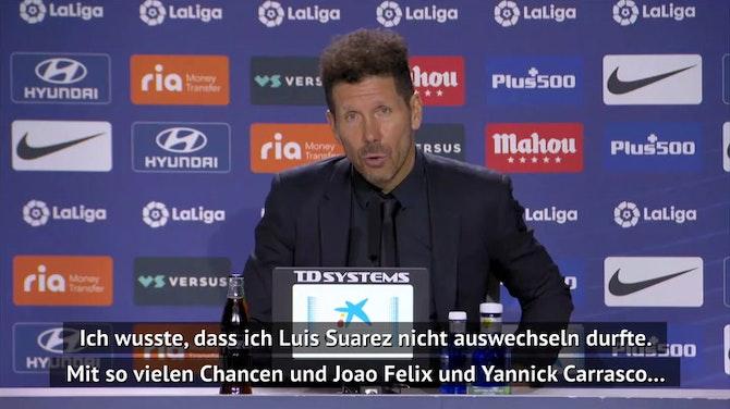 """Simeone will vor Liga-Finale """"Fans stolz machen"""""""